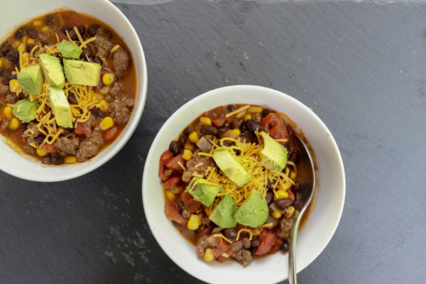 Black Bean Taco Soup Recipe