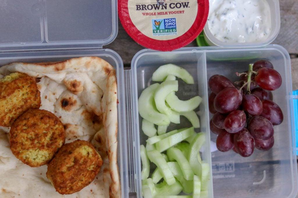 Lunch Falafel Sandwich - Trader Joe's Falafel